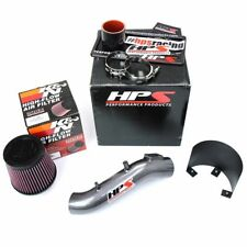 HPS Performance Gun Metal Short Ram Air Intake System Honda Accord 2.4L 03-07
