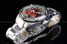 NEW Invicta 52mm Mens Bolt Predator Automatic Open Heart Chrono Gun Metal Watch