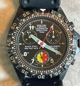 chase durer mens watch udt 660 38 mm pre-owned rarely worn