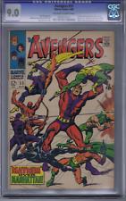 Avengers # 55 Marvel 1968 CGC 9.0 (VERY FINE/NEAR MINT) 1st Ultron-5
