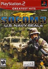 SOCOM 3: U.S. Navy SEALs (Greatest Hits) (Sony PlayStation 2, 2006)