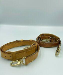 Auth Louis Vuitton Keepall Bandouliere Shoulder strap Set 2 pcs BE9-111
