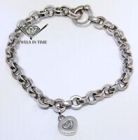 Chopard Happy Diamonds 18k White Gold Ladies Bracelet Box/Papers 85/3468-20