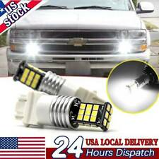 3157 LED Daytime Running Light Bulb DRL for Chevy Silverado 1500 2000-2007 White