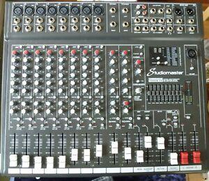Studiomaster Powerhouse 1000 x10 powered mixer amp