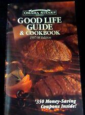 Set of 2 Cookbooks Chocolate Recipes Good Life Guide Steak Dessert Vintage