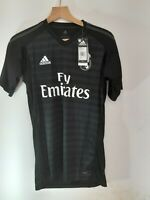 REAL MADRID ADIDAS CLIMALITE HOME TISHIRT 2018/2019SIZE M ,NEW WITH TAG ,KEEPER