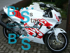 White INJECTION Fairing With Tank Cover Fit Honda CBR600F3 1995-1996 42 A5