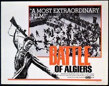 BATTLE OF ALGIERS 1966 Gillo Pontecorvo Algeria LOBBY CARD