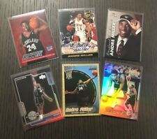 6 Card Rookie Lot~1999-00 ANDRE MILLER RC~Gold Label,Apex,UD,Ultra,Auto,SP #'d