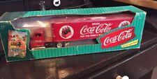 Coca Cola Die Cast Metal Bank Truck & Trailer