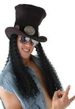 Heavy Metal GUNS n Roses SLASH Guitar Superstar COSTUME WIG TOP HAT