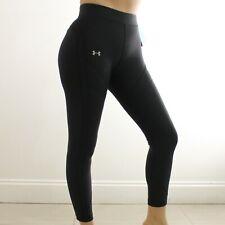 Under Armour Women's Black Leggings, Under Armour Logo  Size S   NWT