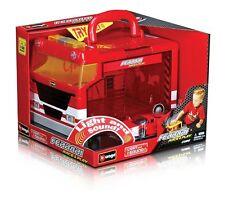 Bburago Ferrari Spider Car Garage Race & Play Portable Garage Scale Play Set
