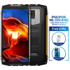 Blackview BV6800 Pro IP68 4+64GB Smartphone 6580mAh Cellulare Waterproof Giallo