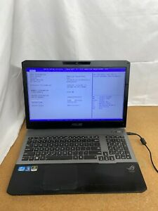 "ASUS ROG G75VW-RS72 Intel Core i7-3610QM 2.30GHz 8GB RAM NO HDD 17.3"" *READ"