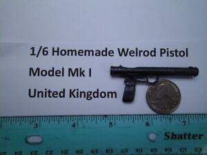 F1   1/6 Homemade WWII Welrod pistol Model Mk. I Great Britain