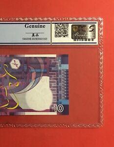 2002 Hong Kong 10 Dollars ,GRADED BY PCGS -GENUINE