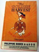 GOLDEN HARVEST-50th Anniversary Philippine Freemason HB, 1968, Scottish Rite VG+