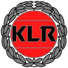 """#364 (1) 3.5"""" Kawasaki KLR 650 KLR 250 KLR650 KLR250 Decal Sticker Wreath"""