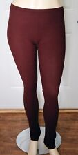 NWT - RUNDHOLZ BLACK LABEL - THICK, OPAQUE LEGGINGS IN LAVA - SZ L - FLATTERING!