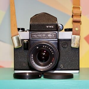 Vintage KIEV 60 TTL Medium Format Camera W/ 2.8 80mm Prime Lens! Lomo! Retro!