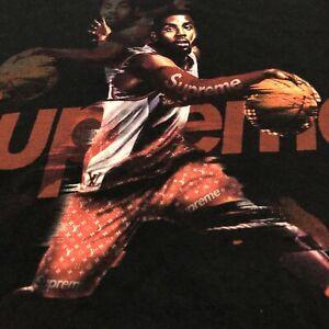 Supreme Streetwear Kyrie Irving NBA Retro Designer Wear Long Sleeve T-Shirt 2046