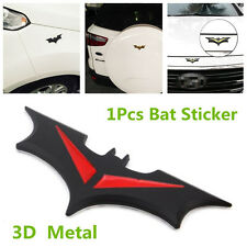 3D Metal Bat Style Car Sticker For Car Side Door, Front Cover, Spare Tire Cover