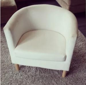 IKEA Armchair TULLSTA Tub Chair Cream Beige