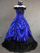 Southern Belle Old West Saloon Girl Gown Theater Reenactment Steampunk Dress 135