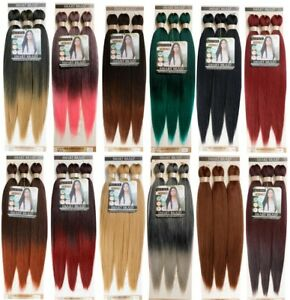 """SMART BRAID 3 IN A PACK 28"""" Pre-Stretched,Pre-Plucked,Pre-Pulled Easy Braid Hair"""