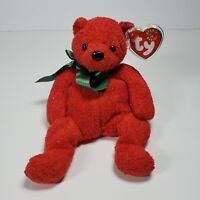 Mistletoe Christmas Holiday Red Ty Beanie Baby Retired Rare