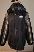 KARBON DUPONT THERMO BLACK SKI SNOWBOARD WINTER PARKA COAT MENS L JACKET LG vest