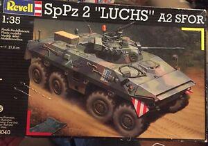 "1/35 SpPz 2 ""LUCHS"" A2 SFOR Revell Kit No 03040"