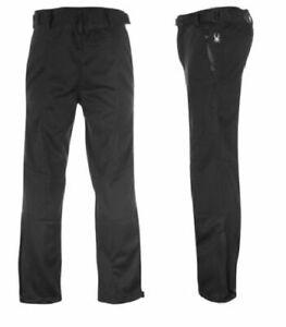 Spyder Trek Sn98 Fleece Lined Men's Hiking & Winter Sports Trousers: XL Black