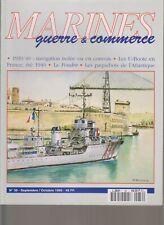 MARINES G&C N°39 U-BOOTE 1940 / CONVOI OU ISOLEE 39-40 / INDOCHINE / LA FOUDRE
