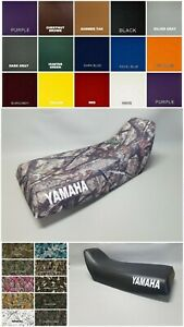 Yamaha YFM350 Wolverine Seat Cover 1995 To 1999 Camo /& Black ATV Seat Cover