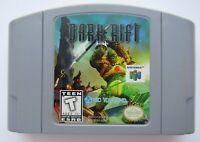 ✅ *GOOD* Dark Rift Nintendo 64 N64 Video Game Cart Retro Fight Battle Super Fun