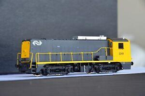 PHILOTRAIN NS Class 2201-2350 Diesel Engine #2249 LokSound DCC Brass