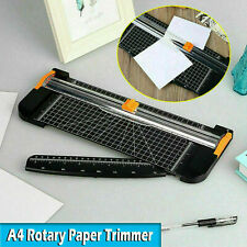 Paper Cutter A4 A2 A5 Paper Photo Cutting Trimmer Guillotine Rotary Office Art
