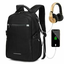Men's Laptop Backpack Multi-Function USB Charging Teenage Male Anti-Theft  Bags