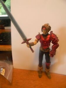 The Legend of Dragoon Dart Action Figure  USED