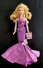 BARBIE bambola-doll-puppe-poupee  BARBIE SHOUSHAITS ANNIVERSAIRE Violet