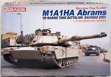 Dragon M1A1HA Abrams 1st Marine Tank 1/35 Scale AFV Model Kit 3533 New/Open Box