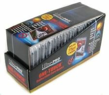 25 ULTRA PRO One Touch Magnetic Holders 75pt UV Gold Magnet New