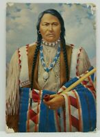VTG Postcard Featuring Chief Ouray of the Ute Native Americana Indian Colorado