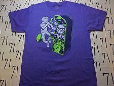 Medium- NWOT Purple Jinx Video Arcade Game Gamer T- Shirt