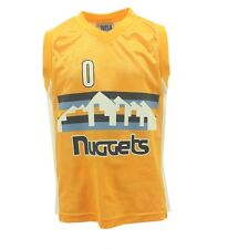 Adidas Youth Size Emmanuel Mudiay Denver Nuggets #0 official NBA Jersey New
