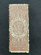 OLD FISCAL UNUSED 10C 1894-1895 SPAIN AND COLONIES EARLY Revenue MH SPAIN LOT