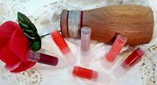 6 pc. Set Tinted Lip Balm Sticks Moisturize Pure Organic Lip Gloss Cream